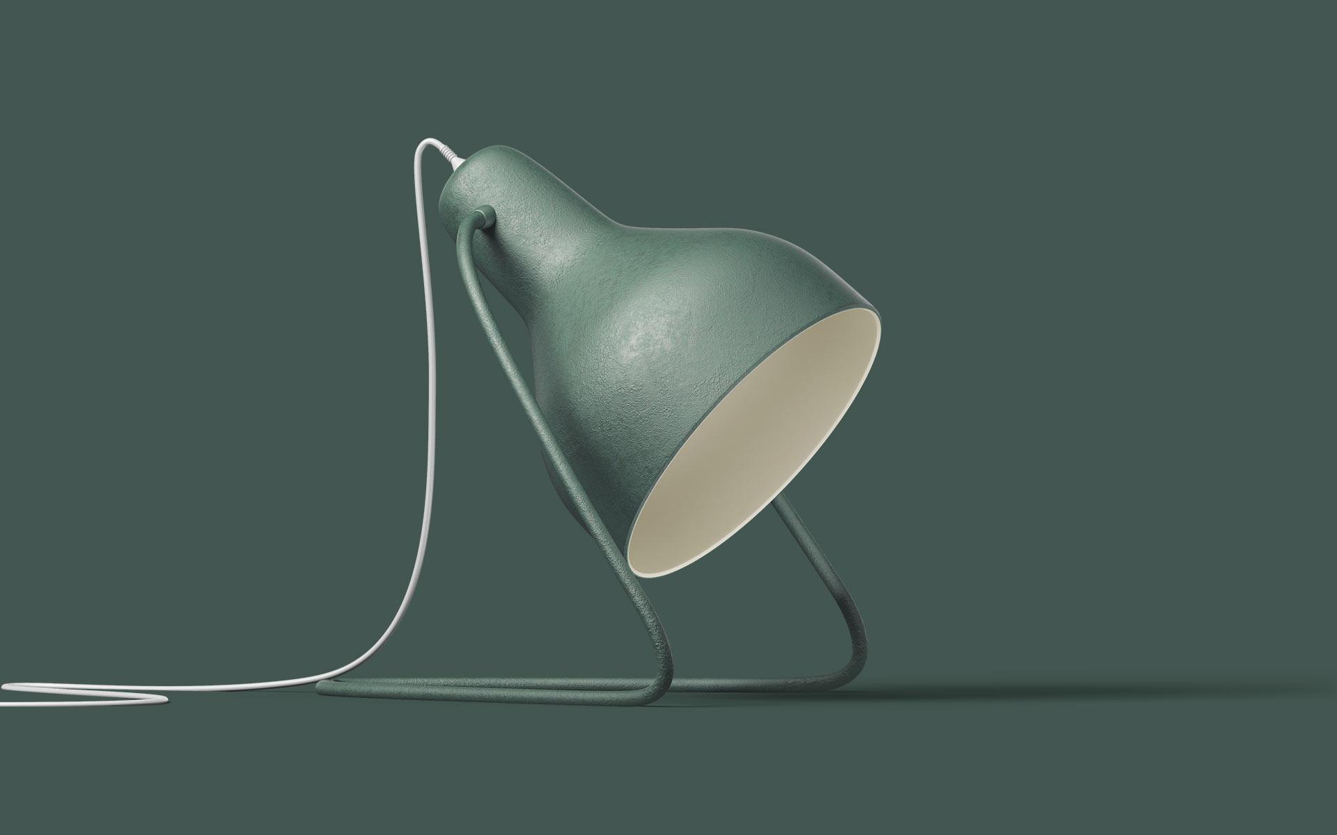 Green Lamp 3D
