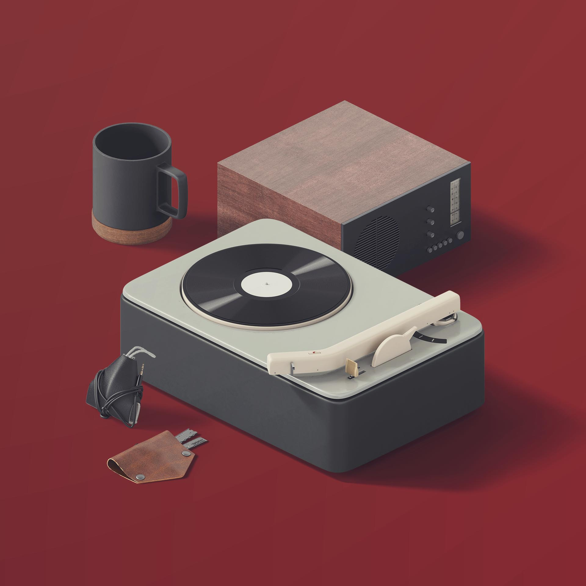 Turntable 3D